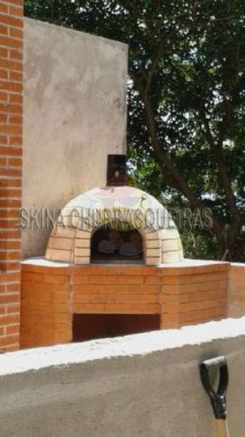 Foto Forno de pizza a lenha